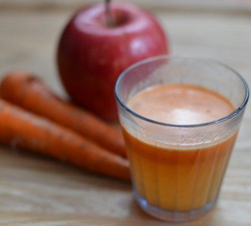 りんご&人参ジュースをご自宅で作りませんか